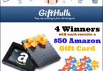 GiftHulk Amazon Gift Card Giveaway Event {Closed}