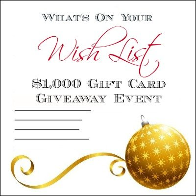 $1000 gift card giveaway event