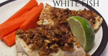 Nut Crusted White Fish Recipe