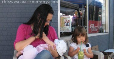 breastfeeding in public