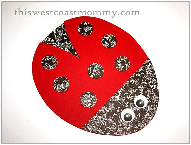 ladybug wall decoration