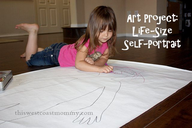 life size self-portrait