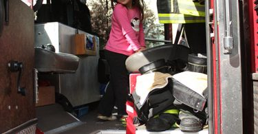 Wordless Wednesday: I Want to Be a Firefighter! - This West Coast Mommy