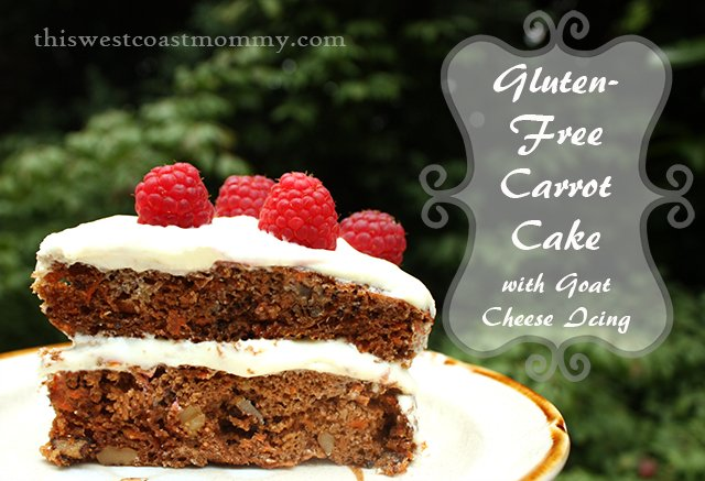 This gluten-free carrot cake is made with almond flour for moist, delicious cake! Pair with goat cheese icing for a decadent allergy-friendly treat. Nobody will know it's gluten-free unless you tell them!