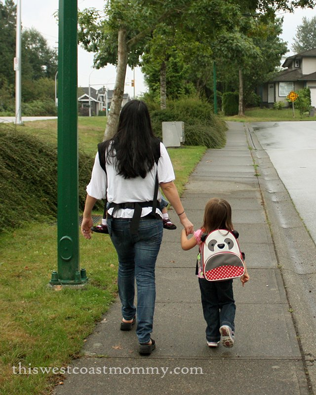 This is the Way We Walk to School | This West Coast Mommy