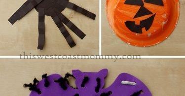 Halloween preschool crafts