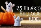 25 Hilarious Halloween Riddles