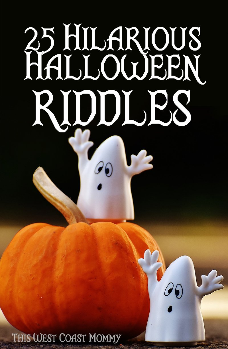 25 Hilarious Halloween Riddles | This West Coast Mommy