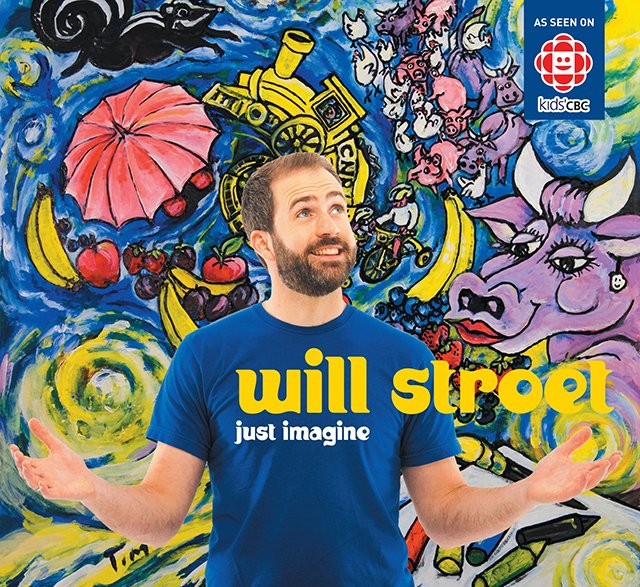 Will Stroet's Just Imagine CD - This West Coast Mommy