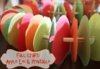 Fall Craft: Apple Lei and Printable Template | This West Coast Mommy