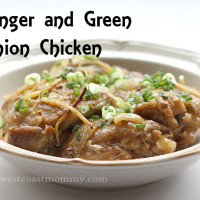 ginger and green onion chicken recipe