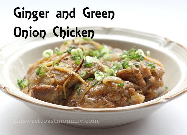 This ginger and green onion chicken recipe is simple and tastes delicious! Paleo and Whole30 friendly too!