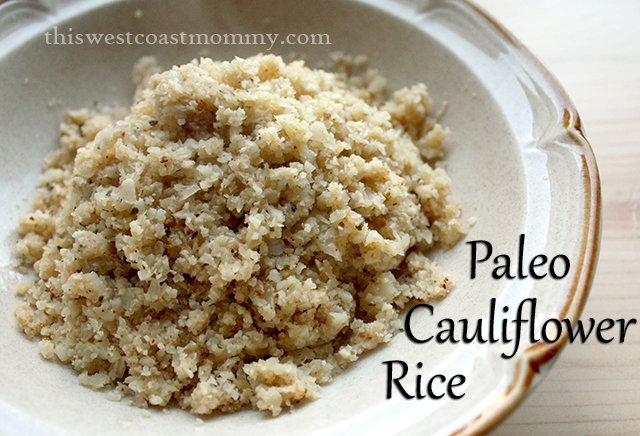 paleo cauliflower fried rice