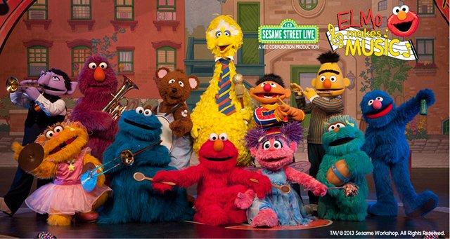 Sesame Street Live: Elmo Makes Music