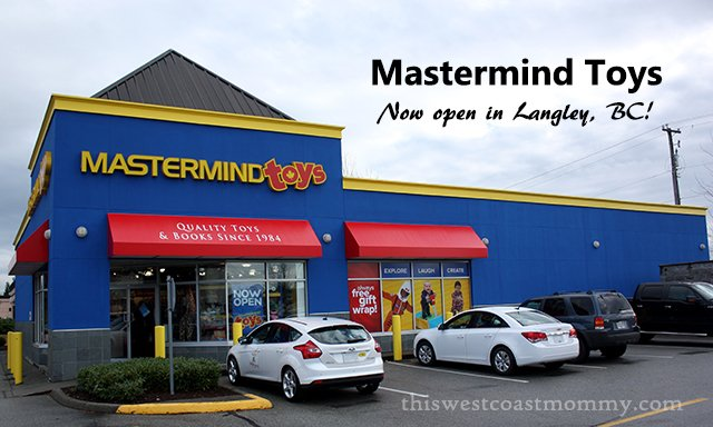 Mastermind Toys in Langley, BC