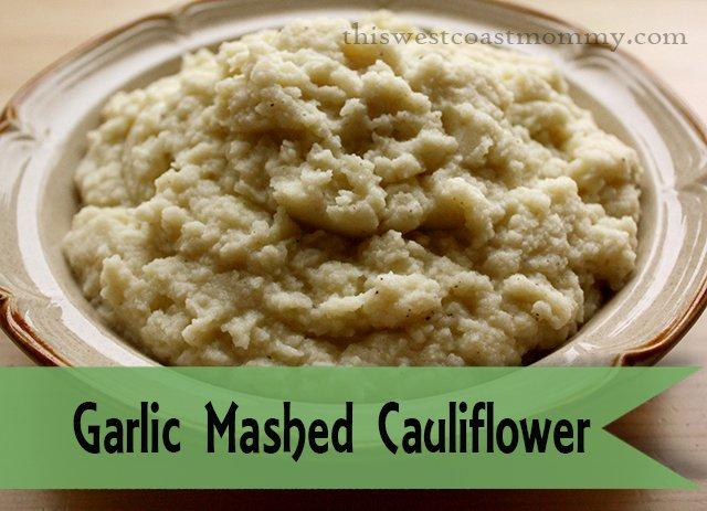 Garlic Mashed Cauliflower makes a great #paleo #glutenfree substitute ...