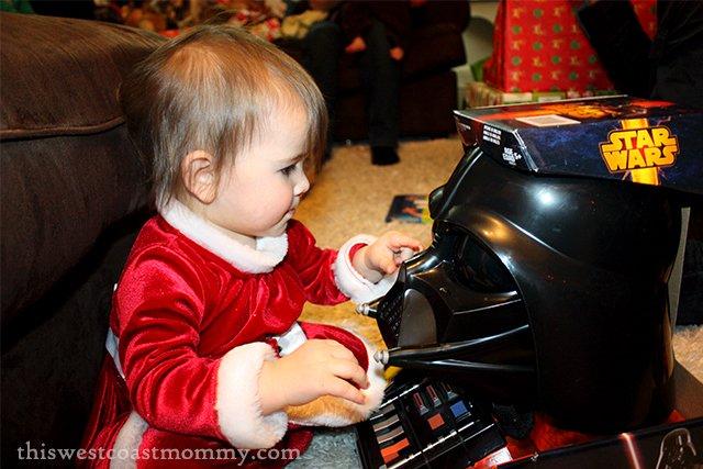 Keira meets Darth Vader