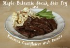 Maple-Balsamic Steak Stir Fry #Recipe and Paleo Meal Planning with eMeals