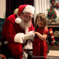teagan and santa