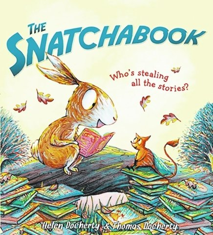 Books under the tree? Yes please! Read my review of The Snatchabook by Helen Docherty (Sourcebooks) #HolidayGiftGuide