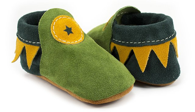 Soft Star Shoes - Baby Roo moccasins