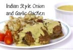 Indian Style Onion and Garlic Chicken #Whole30 #Paleo #Recipe