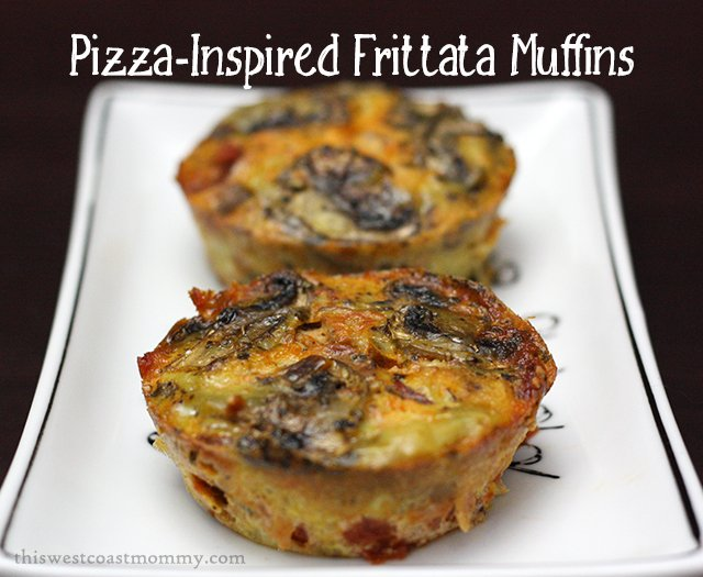 These #Whole30 and #paleo Pizza Inspired Frittata Muffins are easy to ...