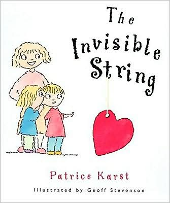 Books to help your child deal with the death of a grandparent: The Invisible String by Patrice Karst, illustrated by Geoff Stevenson (Devorss & Co.)