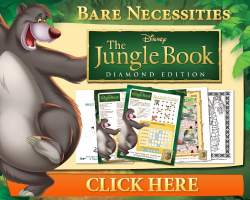 The Jungle Book activity pages