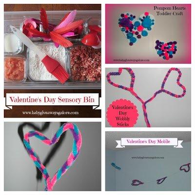 Valentine's Day Craft Collage