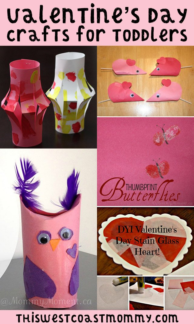 6 Valentine S Day Crafts Perfect For Toddlers And