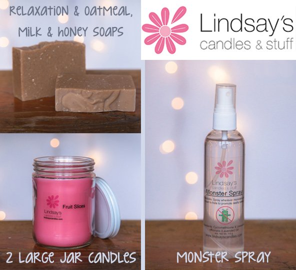 Lindsay's Candles & Stuff prize package