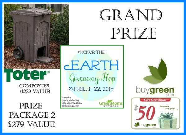 Grand Prize Honor the Earth Prize Package 2