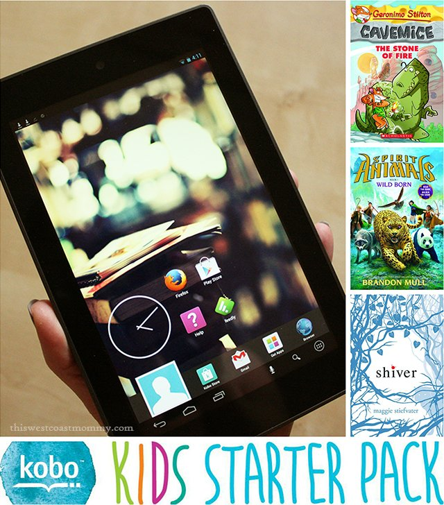 Purchase any Kobo tablet at Indigo, Best Buy, or Future Shop in Canada until March 27 and receive this free Kids Starter Pack of eBooks worth $30. #KoboKids