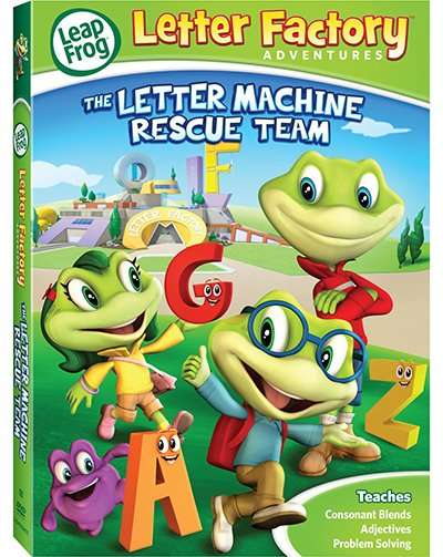 The Letter Machine Rescue Team released on DVD March 4