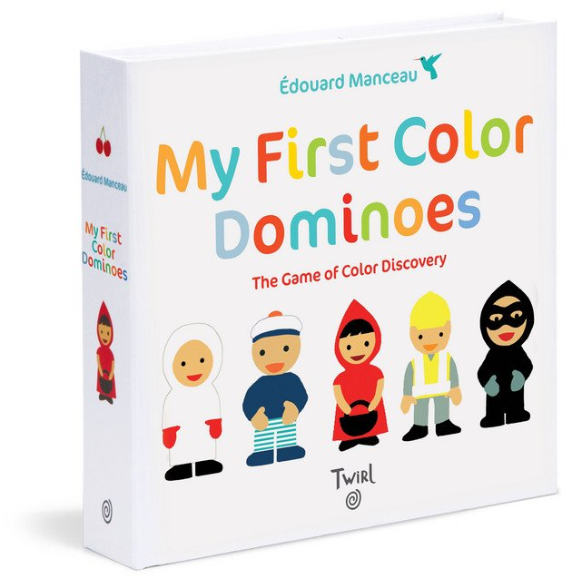 My First Color Dominoes: The Game of Color Discovery by Édouard Manceau