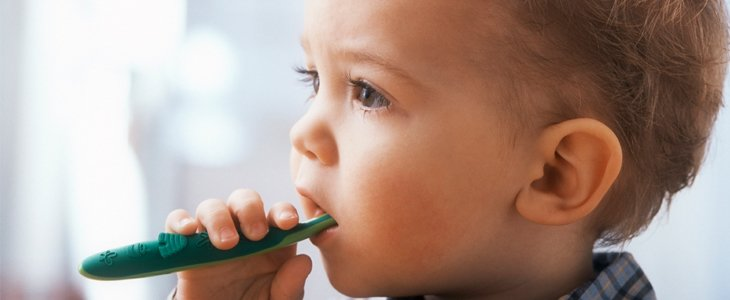 Develop a regular brushing routine early.
