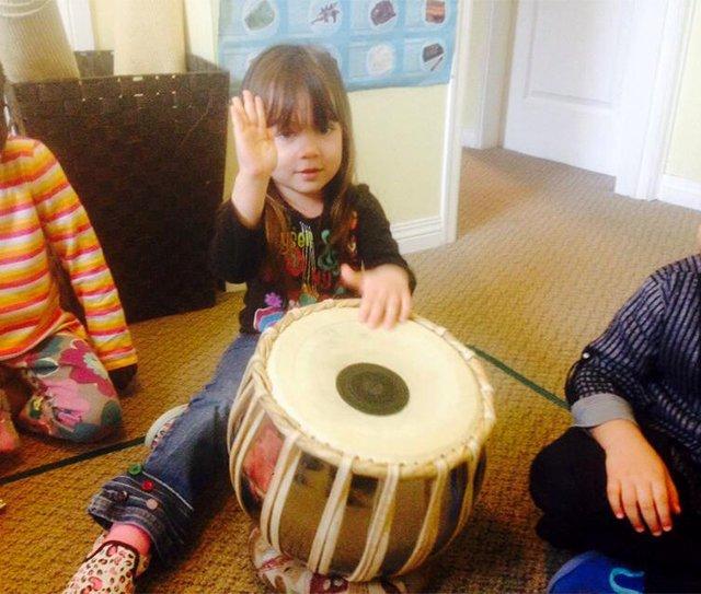 Drumming for Vaisakhi