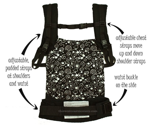 Inside of an Ergobaby Original Carrier