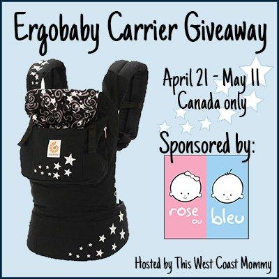 Win an Ergobaby Original Carrier! (CAN, 5/11)