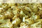 Roasted Curry Cauliflower #Recipe