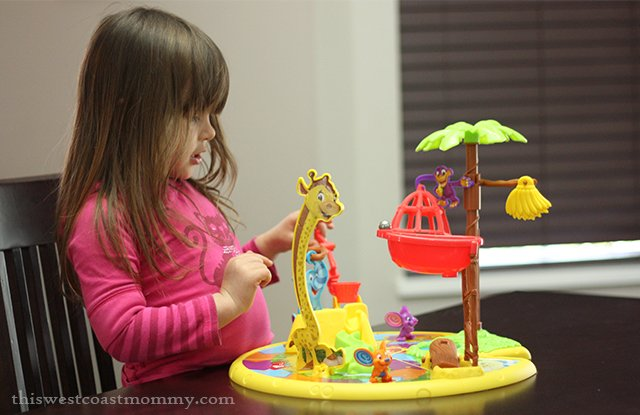 The updated Mousetrap game from Hasbro is preschooler friendly.