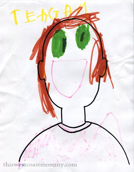Tee's self-portrait