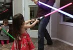Passing On the Lightsaber: May the 4th Be With You!