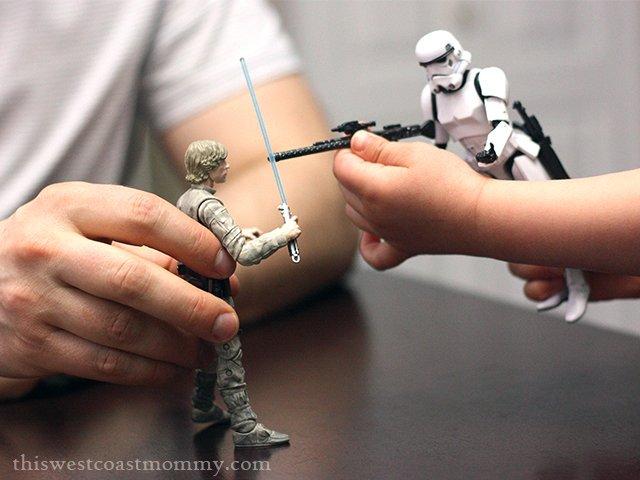 Luke Skywalker vs. the Stormtrooper