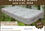 Organic Sparrow Twin Mattress #Giveaway {Closed}