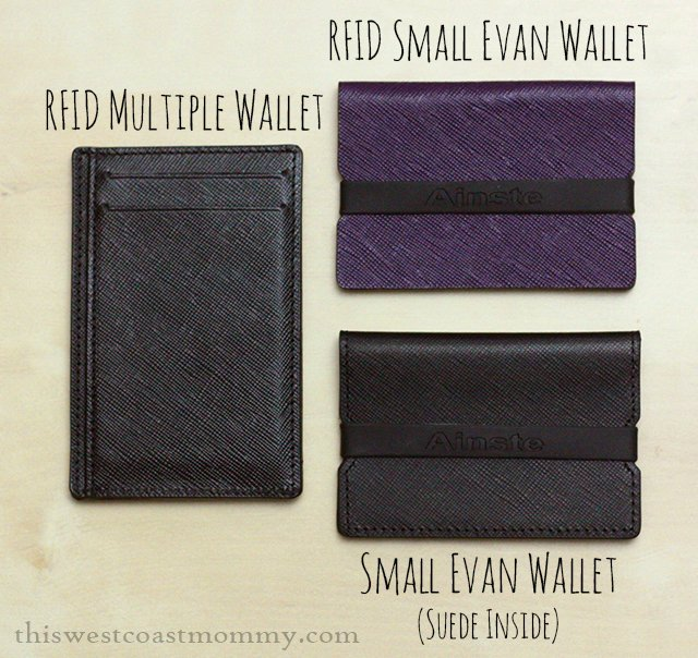 Ainste minimal wallets