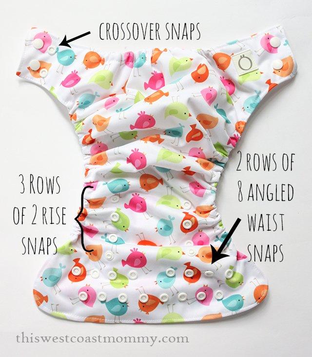 Omaïki 3.Ö Hybrid Diaper