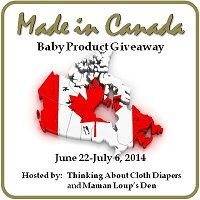 Made in Canada Baby Gear Giveaway 2014 #madeincanadababy
