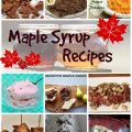 maple syrup recipe roundup